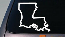 "LOUISIANA state 6"" sticker decal car truck window college football basketball"