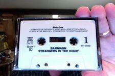 Baumann- Strangers in the Night- 1983- used cassette- no insert card- rare?