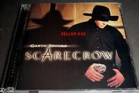 GARTH BROOKS cd SCARECROW rare LIMITED FIRST EDITION beer run George Jones