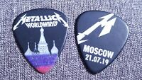 Metallica Moscow Russia Worldwired Tour 2019 Pick Plectrum Berlin Moskau