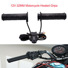 Universal Electric Hot Heated Grips Handle For 12V 22MM Motorcycle handlebar