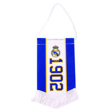 REAL MADRID FC ESTABLISHED SINCE MINI PENNANT WITH TASSLES CAR NEW XMAS GIFT