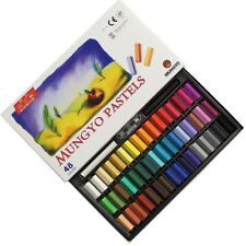 Mungyo Non Toxic Mungyo Soft Pastel Set of 48 Assorted Colors Square Chalk