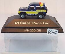 HERPA 1/87 pc MERCEDES BENZ 230 GE ons Official pace car OVP #6044