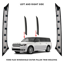 2009-2019 Ford Flex Windshield Outer Pillar Passenger& Driver Side Trim Molding