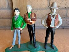 REVELL  BONANZA  MODEL KIT 1966 Figures Figurines Little Joe Ben Hoss Cartwright