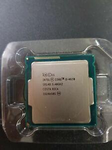 Intel Quad Core i5-4670 SR14D 3.4GHz 6MB Socket LGA1150 CPU Processor