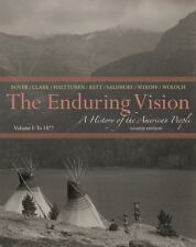 The Enduring Vision - To 1877 Vol. I ISBN: 978-1-133-94521-5