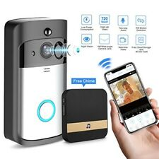 Smart Video Doorbell Wireless Home WIFI Security Camera With Indoor Chime 8G New