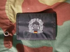 wallet military black panzerjager, coin purse, documents holder German wallet