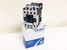 Chint Contactor 240V 25A/11Kw 5060Hz AC3 2 NO 2 NC 4P 4 Main Poles
