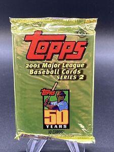 2001 Topps Baseball Factory Sealed Pack Possible Pujols Ichiro Rookie PSA 10