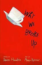 Why We Broke Up, Handler, Daniel, Used; Good Book