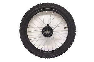 "Pit bike wheel,14"" front complete wheel,Tyre,Tube.Shop Soiled"