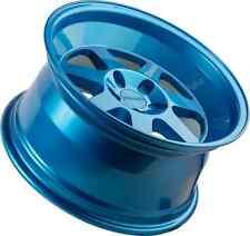 17x8 +20 Klutch ML7 5x114.3 BLUE WHEEL Fits Sentra 240Sx S13 S14 Scion Tc Xb RX8
