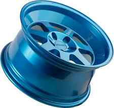 17x9 +20 Klutch ML7 4X100 BLUE WHEEL Fits Civic SI Miata Integra E30 Wide Body