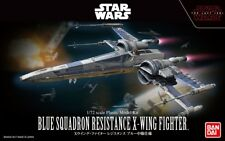 Star Wars the Last Jedi Blue Squadron Resistance X-Wing Fighter Kit 1/72 Bandai*