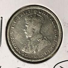 1916-M Australia 1 Shilling King George V Silver Coin