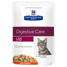 12 BUSTE I/D AL POLLO HILL'S PRESCRIPTION DIET PER GATTI DISTURBI INTESTINALI