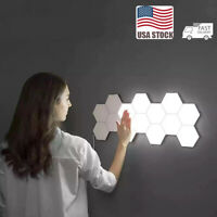 Led Hexagonal Lamps Quantum Lamp Modular Touch Sensitive Lighting Night