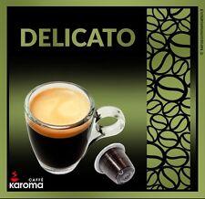 10 Capsules Compatible Nespresso Machines! New! (Delicato) 2-3 Day Delivery!