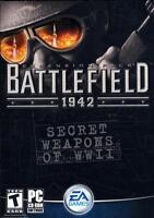 Battlefield 1942 Secret Weapons of WWII PC CD-ROM