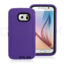 Hybrid Rubber ShockProof Protective Hard Case Cover Skin  For Samsung Galaxy S6