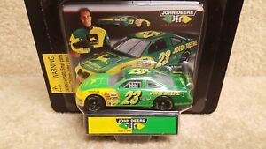 New 1996 Racing Champions 1:64 NASCAR Chad Little John Deere Grand Prix #23 b