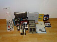 Konvolut aus 40 Disketten & 40 Datasetten + Anleitungen für C64, niederländisch