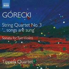 CD GÓRECKI / GORECKI String Quartet No. 3 TIPPETT QUARTET
