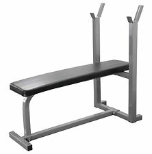 Weight Bench Flat Chest Press Heavy Duty Bench