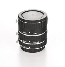 DLC Auto Extension Tube set for Canon EOS