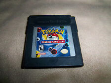 Pokémon Trading Card Game (Nintendo Game Boy Color, 2000) *NOT SURE IF IT SAVES*