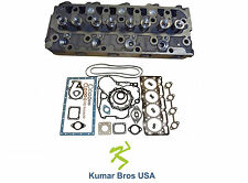 "New Kubota V1505 ""Complete"" Cylinder Head & Full Gasket Kit"