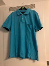 Bogner  Designer Shirt Polo Kragen Shirt Top Mode Fashion L blau