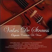 Valses de Strauss Orquesta Concierto de Viena (CD, 2004)