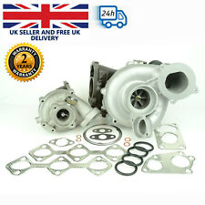 Set of Two Turbochargers for BMW 335d, 535, 635d, X3, X5, X6 - 296 BHP / 210 kW.