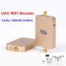 SUNHANS eSunRC 2000mW UAV WiFi Signal Booster 5.8Ghz 33dBm WiFi Signal Amplifier