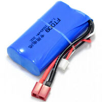 7.4V/2S 1500mAh 20C Li-ion Battery T plug Burst 40C RC model vehicle power pack
