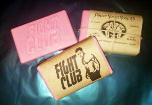 Fight Club Soap Tyler Durden Almond Scented Project Mayhem Paper Street Soap