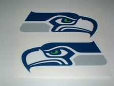 SEATTLE SEAHAWKS FULL SIZE FOOTBALL DECALS