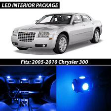2005-2010 Chrysler 300 Blue Interior LED Lights Package Kit