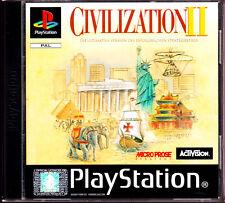 """Ps1 -"""", Civilization II-avec mode d'emploi & OVP (Complet) - très bon état"""