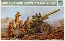 Trumpeter 1/35 Soviet ML-20 152mm Howitzer (w/M-46 Carriage) # 02324