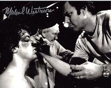 MAKEUP ARTIST MICHAEL WESTMORE SIGNED 'ROCKY' 8x10 PHOTO W/COA 2 3 STAR TREK
