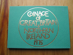 Royal Mint 1975 coinage of Great Britain decimal proof coin set (2)
