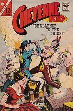 1967 Charlton Comics Cheyenne Kid Western Comic Book #60 AB