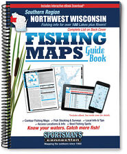 Northwest Wisconsin: Southern Region Fishing Map Guide | 2016 Edition - SCMaps