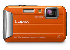 Panasonic Lumix DMC Ft30 Digital Camera - Orange