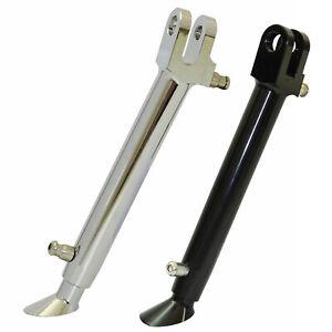 Adjustable Lowering Kickstand Side Stand For KAWASAKI Ninja ZX-6R ZX-10R ZX-12R